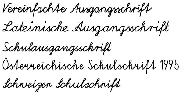 schulausgangsschrift font