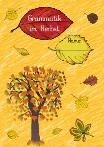 Arbeitsheft Herbst Titelseite