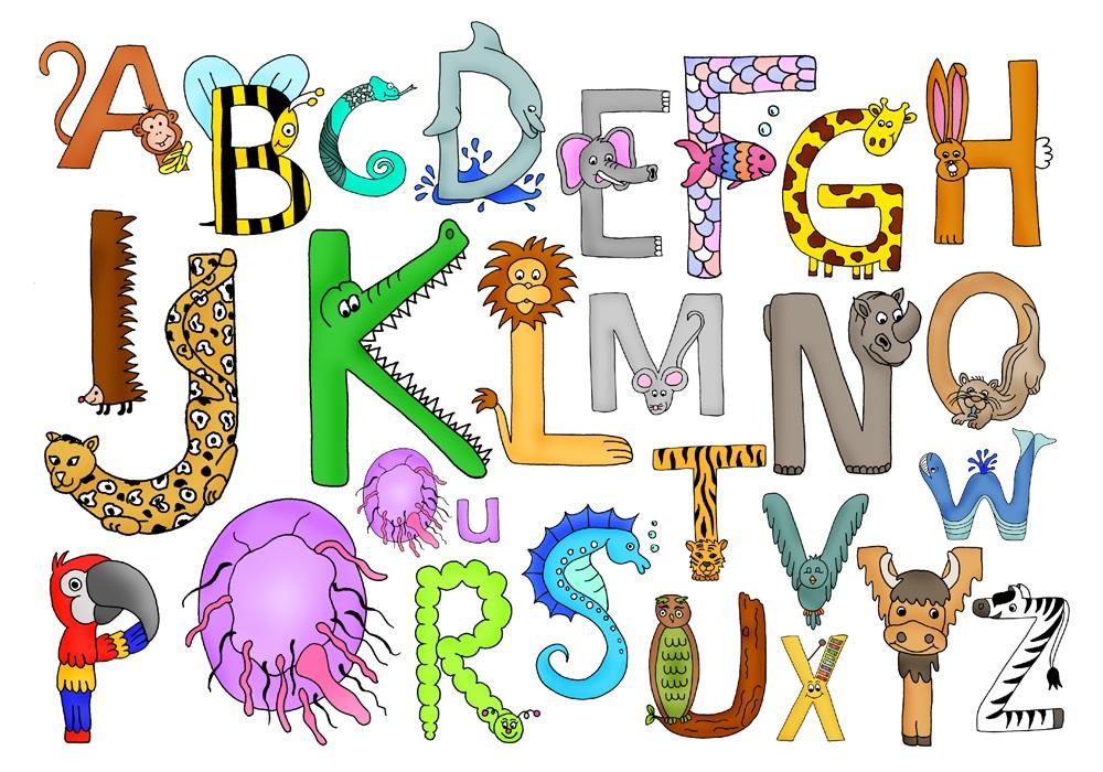 Buchstabentiere1