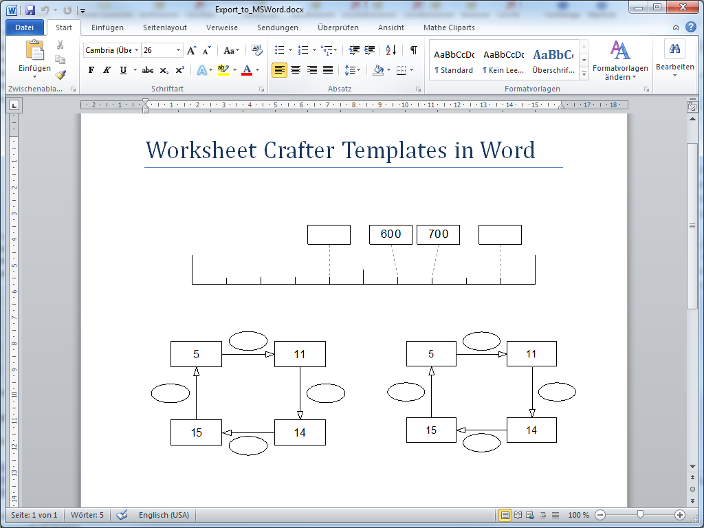 Worksheet Crafter – Worksheet Templates for Word
