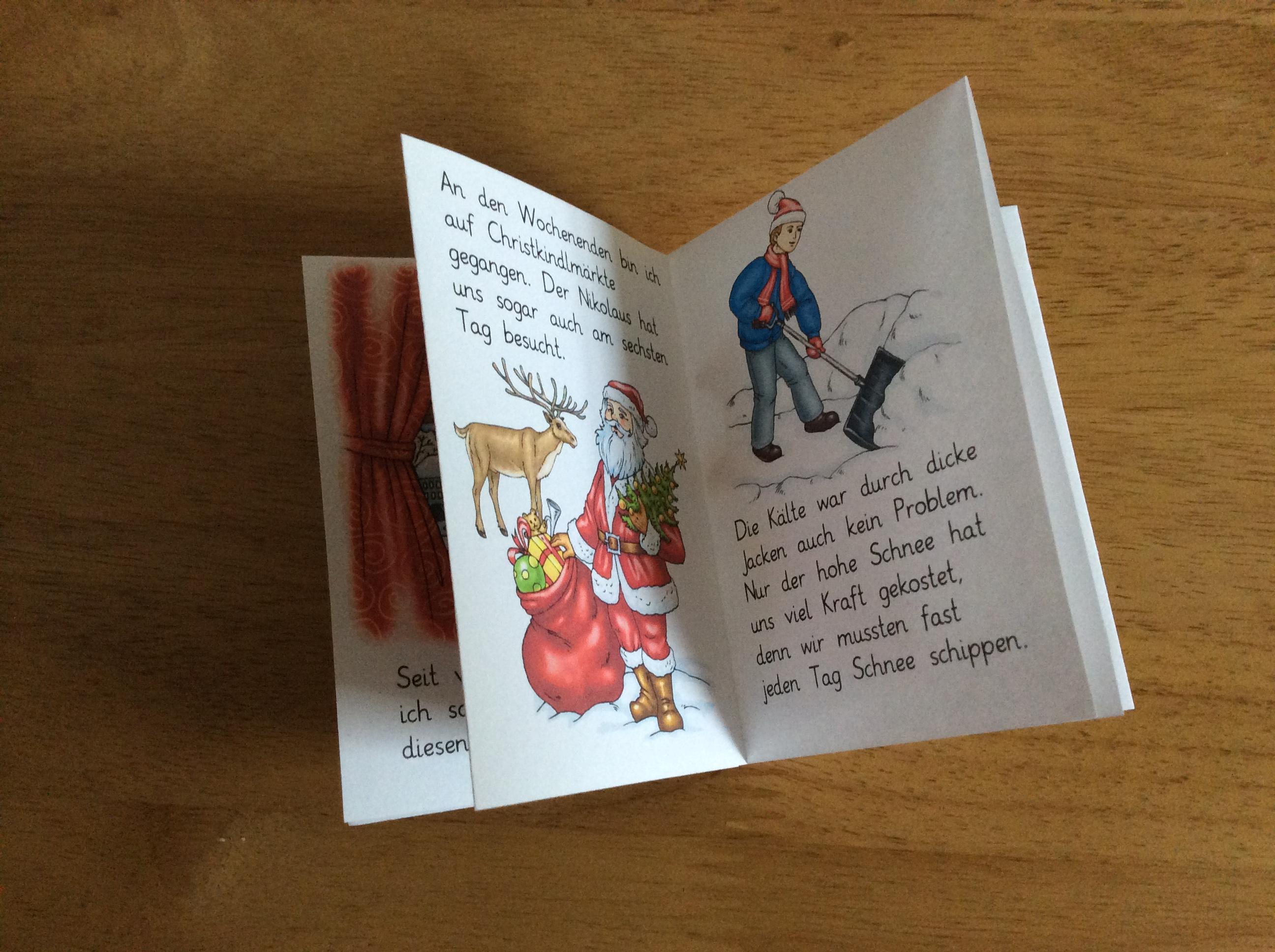 Worksheet crafter for Weihnachtskarten erstellen