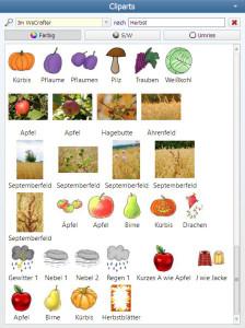 Herbst Clipart Suche Worksheet Crafter