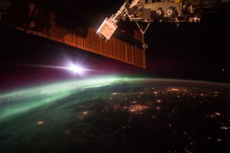 Polarlicht_ISS