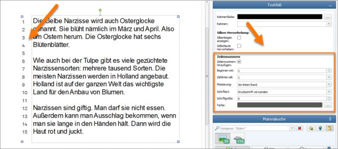 TextItem_LineNumbering_de