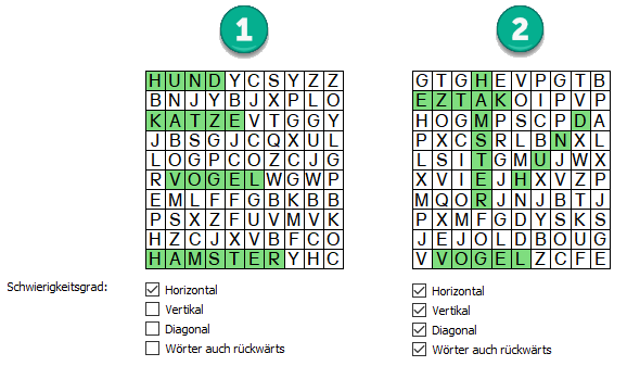WordSearchPuzzle_Difficulty_DE